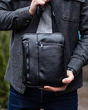 Мужская кожаная сумка через плечо Dublin
