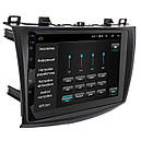Штатная магнитола для автомобиля Mazda 3 2-5D 9 GPS навигация FM USB Wi Fi (3609-10466), фото 2