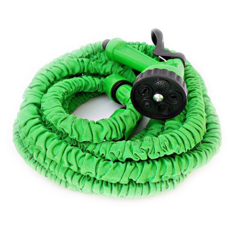 Шланг поливочный Magic Hose 15 м Зеленый