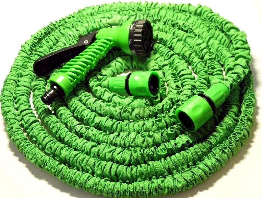Шланг поливочный Magic Hose 22.5 м Зеленый