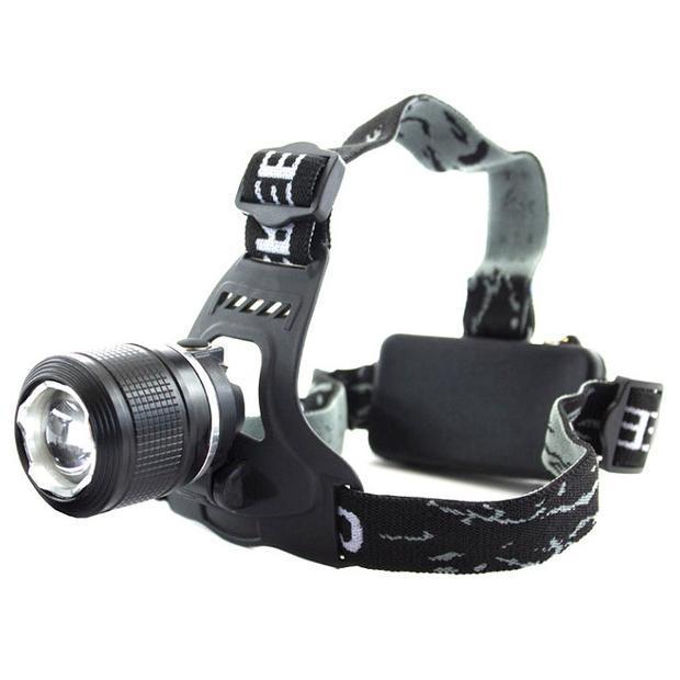 Налобний ліхтар Bailong BL-2199-T6 Чорний