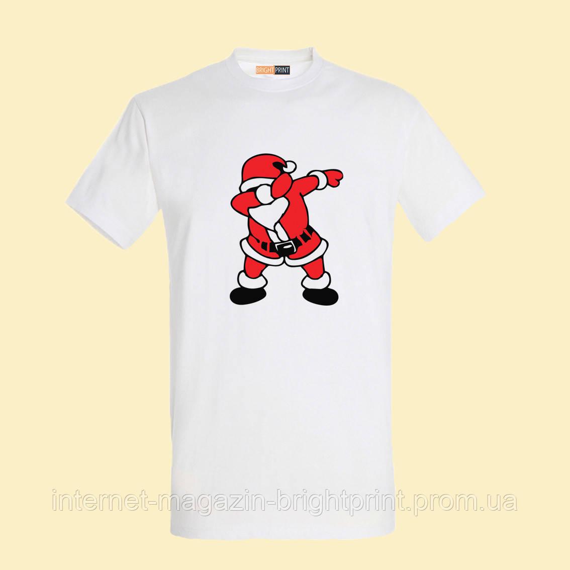 """Чоловіча футболка з принтом """"Деп Санта"""""""
