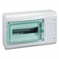 Щит Schneider-Electric Mini Pragma 4 модуля навісний біла двері IP40 MIP12104