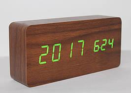 Настільні годинники ART-862W Коричневий (200661)