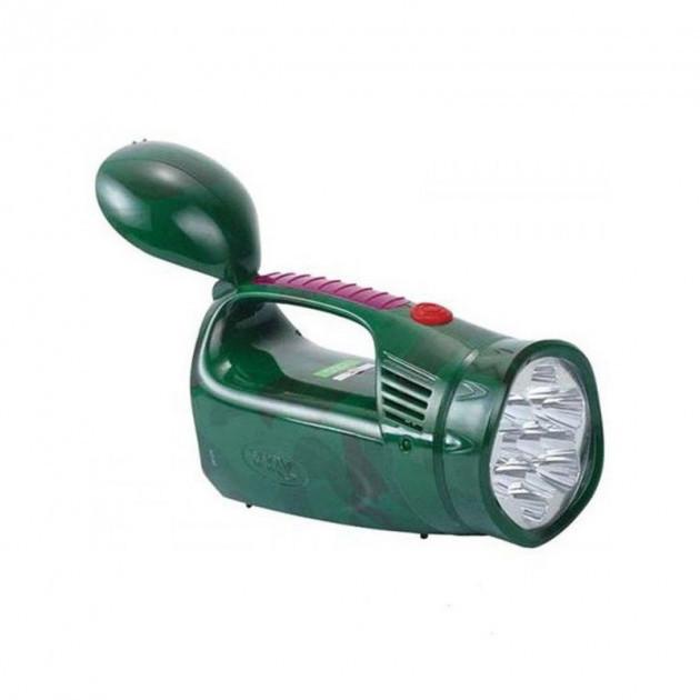 Фонарь светодиодный аккумуляторный YJ-2809 Зеленый (YJ-2809)