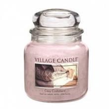 Свеча Village Candle Уютный Кашемир 455г (время горения до 105 часов)
