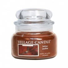 Свеча Village Candle Итальянская Кожа 315г (время горения до 55 часов)