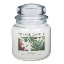 Свеча Village Candle Гардения 455г (время горения до 105 часов)