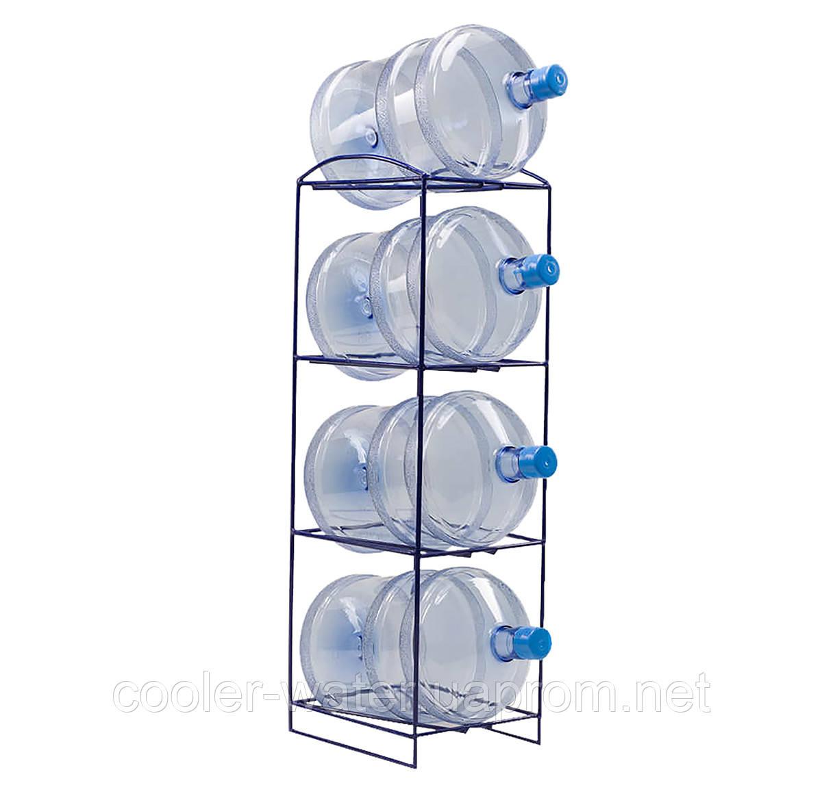 Подставка металлическая на 4 бутыли СВП-4