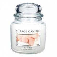 Свеча Village Candle Пудровая Свежесть 455г (время горения до 105 часов)