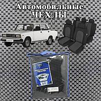 Чехлы на Ваз 2107. Автомобильные, модельные чехлы ПРЕСТИЖ.