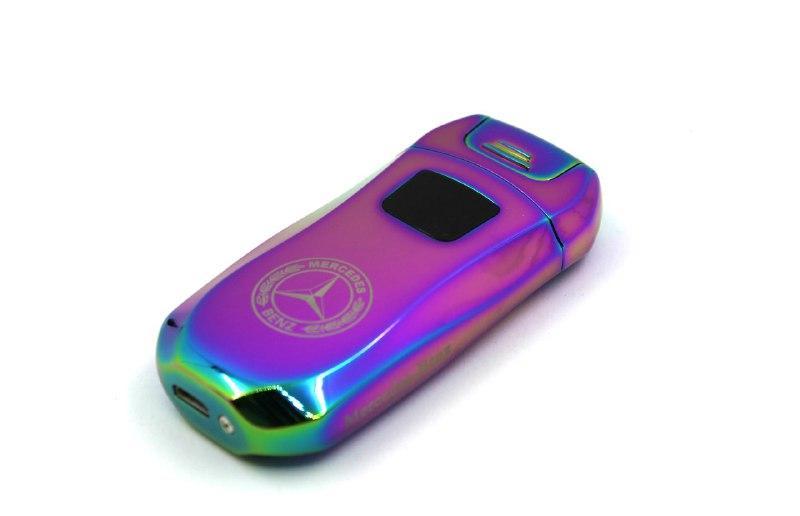 Електроімпульсна USB запальничка з логотипом Mercedess Hameleon (200857)