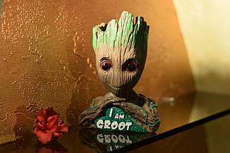 Глиняный цветочный горшок - милый малыш Грут из Стражей Галактики от Marvel I am Groot
