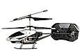 Радіокерований вертоліт 3-х канальний, метал каркас, лист 20м, usb кабель, зарядка в пульті 33008, фото 5