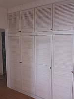 Шкаф с распашными дверями-ставнями, фото 1