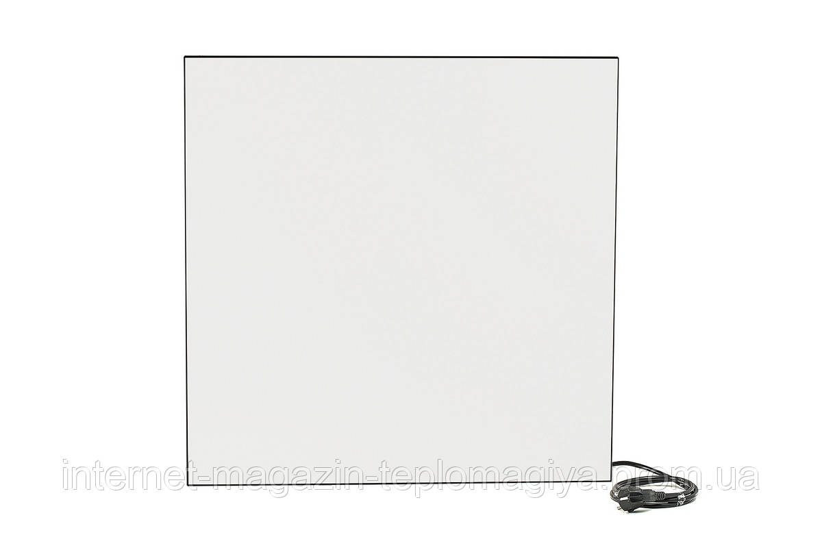 Керамическая панель Камин белая + климат-контроль 475 Вт