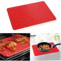Коврик для выпечки PYRAMID PAN Fat-Reduction Silicone Cooking Mat (16,25х11,5 см, силиконовый)grill