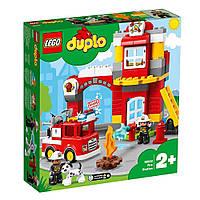 Конструктор Lego DUPLO Городок Пожарное депо 76 деталей (10903)