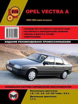 Opel Vectra A з 1988 по 1995 рр. Керівництво по ремонту та експлуатації