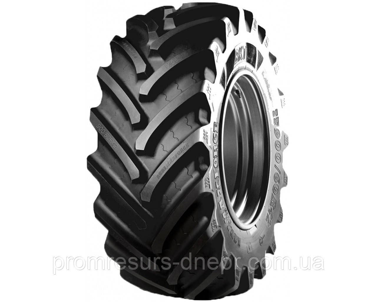 Шина пневматическая тракторная 650/65 R38 166A8/163D BKT RT657 TL