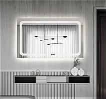 Зеркало - смарт для ванной с подсветкой 65х80 DE-M3001 Dusel
