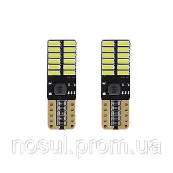 5W5 T10 LED Bulb Canbus светодиодная лампа автомобильная (6000К холодный белый)