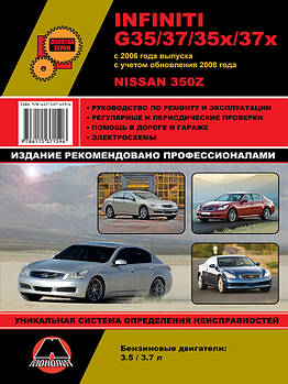 Infiniti G35 / G37 / G35x / G37x c 2006 г. (+обновление 2008 г.) / Nissan 350Z. Руководство по ремонту и