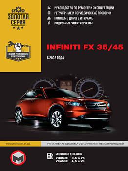Infiniti FX 35 / Infiniti FX 45 c 2002 г. Руководство по ремонту и эксплуатации