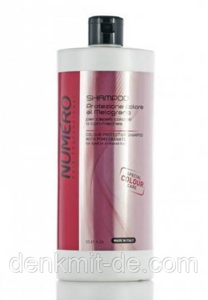 Шампунь для защиты цвета волос с экстрактом граната Brelil Professional Numero Special Colour Care 1000 мл