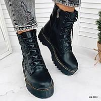Женские высокие ботинки, фото 1