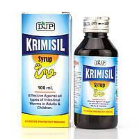 Кримиcил сироп от паразитов Krimisil syrup Jaggi 100 мл
