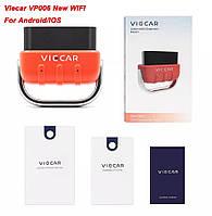ДИАГНОСТИЧЕСКИЙ СКАНЕР Viecar ELM 327 V2.2 VP006  PIC18F25K80 WIFI, фото 1