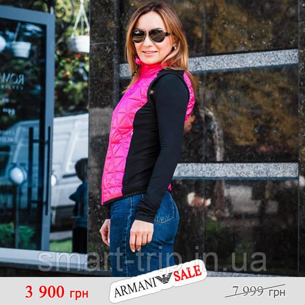 Жилетка женская Emporio Armani S розовый sale (6GTQ03-TNQ9Z-0445-sale-S)
