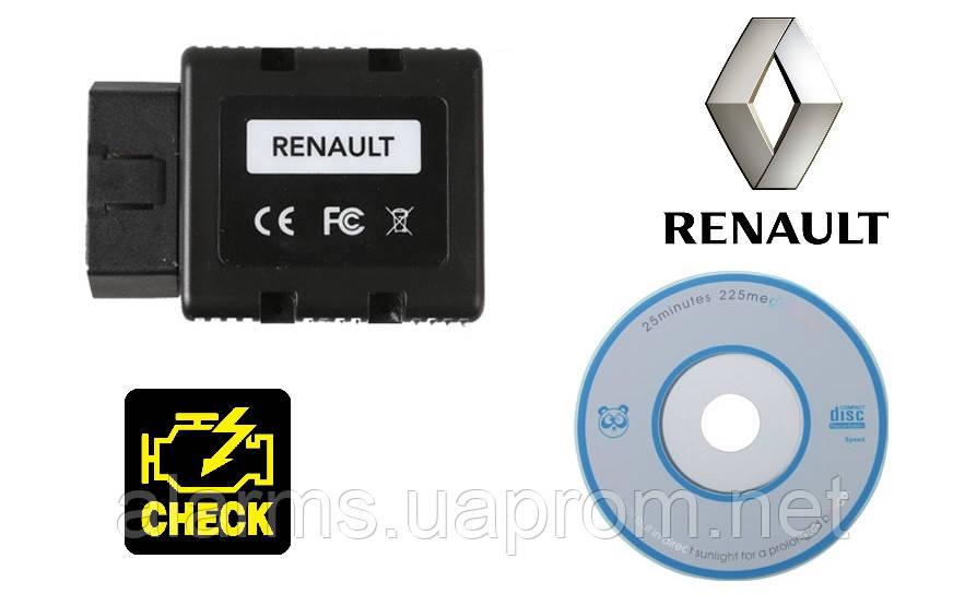 Диагностический сканер  Renault Com Bluetooth  (аналог Can clip). Русский язык