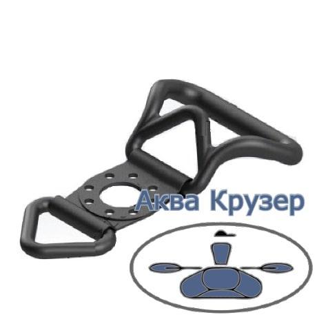Borika FASTen PHr204 Ручка-буксир с буксировочным кольцом и ПВХ креплением для установки под замок Fs219