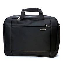 Сумка для ноутбука Leimande BST 430014 30х10х42 см Чорний