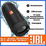 Портативная акустическая беспроводная колонка  JBL Charge 2+ mini, фото 7