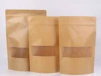 Пакет Дой-пакет 100*170 мм*дно 30+30 мм (50 г)