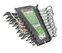 Набор ключей комбинированных, 10 рожково-накидных. Ключи разных размеров рожковые+накидные King STD KSP-1-010