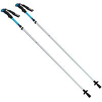 Палиці скандинавські телескопічні трекінгові для скандинавської ходьби ZELART 2 шт Сині (TY-0467)