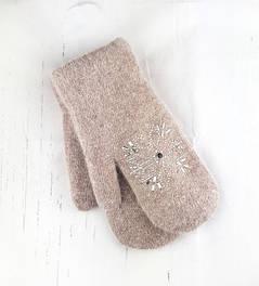 Перчатки женские, рукавички, варежки.