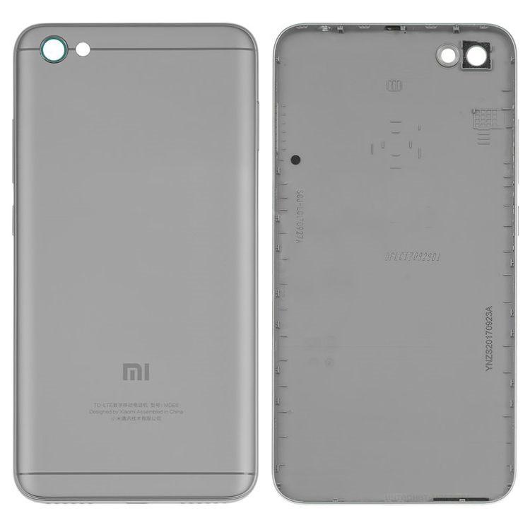 Задняя панель (крышка) для Xiaomi RedMi Note 5a (Серый) Оригинал Китай