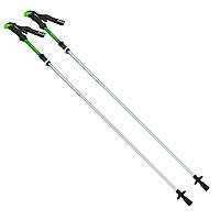 Палиці скандинавські телескопічні трекінгові для скандинавської ходьби ZELART 2 шт Зелені (TY-0467)