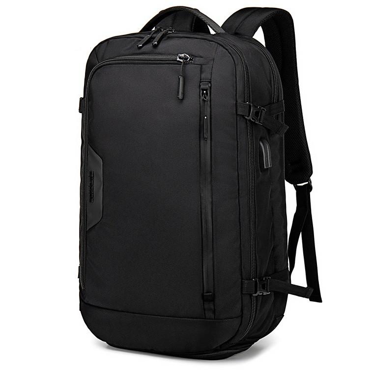 Большой дорожный рюкзак Arctic Hunter B00183-1, с USB портом, тремя отделениями, влагозащищённый, 29л