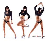 "Болеро "" Капля"" для занятий  фитнесом,exotic pole dance, pole dance."