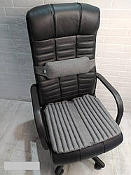 Ортопедичні подушки EKKOSEAT на офісне крісло керівника (КОМПЛЕКТ)