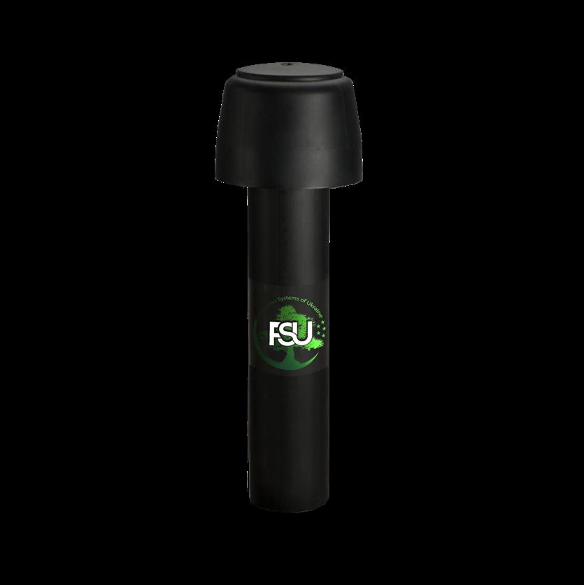 Бытовой воздушный фильтр FSU для небольших хлораторных