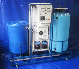 Бытовой воздушный фильтр FSU для небольших хлораторных, фото 2