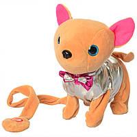 Собака M 4306 (Silver) Мягкие игрушки для девочки