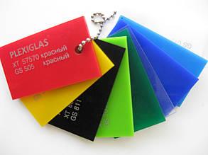 Акрил экструдированный Plexiglas, зеленый, 3 мм, лист 3050х2050мм